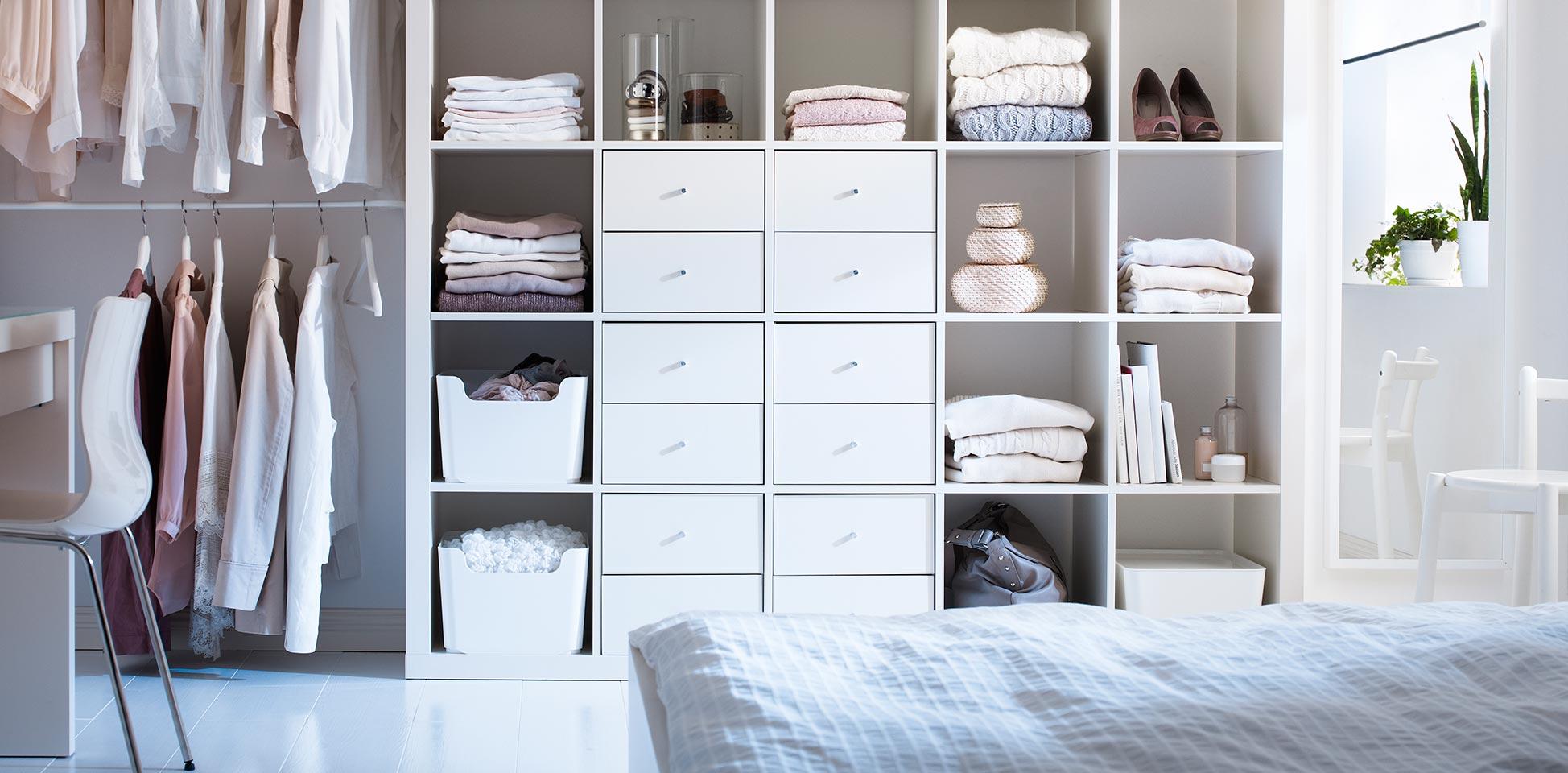 Ideas para organizar armarios de ropa