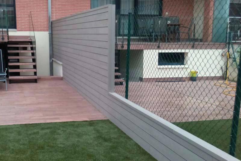 Tipos de cercados y mallas para jardín