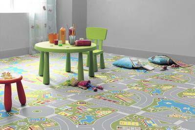 Como decorar tú mismo el suelo de los niños DIY