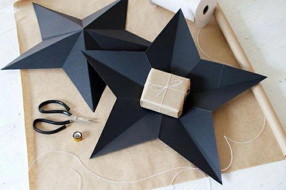 Estrella decorativa para el árbol de navidad