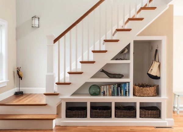 El rincón de debajo de las escaleras