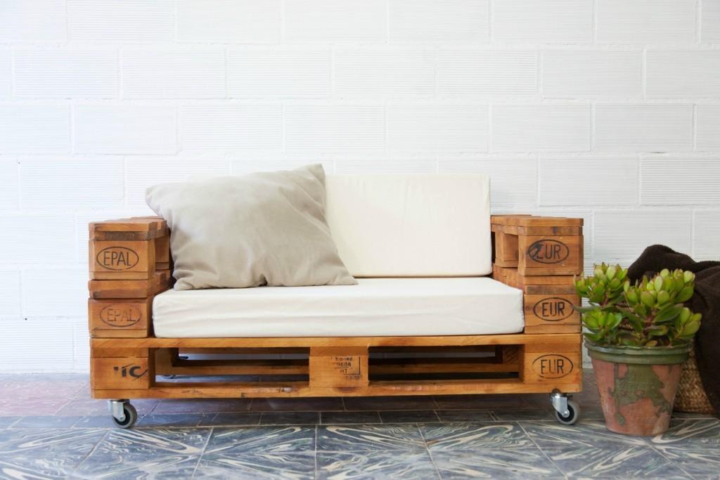 Consejos para hacer un sofá con palets